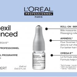 Ампули против косопад Loreal Professionnel Aminexil Advanced 10 x 6 ml