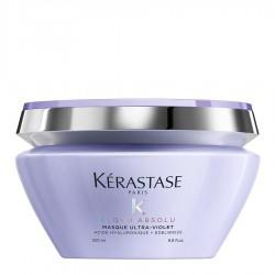 Маска за неутрализиране на жълто-оранжеви оттенъци Kerastase Blond Absolu Masque Ultra Violet 200 ml