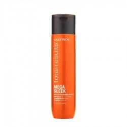Шампоан за непокорна коса с масло от ший Matrix Total Results Mega Sleek 300 ml