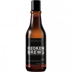 Шампоан за коса и тяло за мъже Redken Brews 3-in-1 300 ml