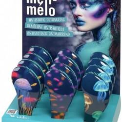Четка за коса антистатична Sibel D-Meli-Melo Aqua