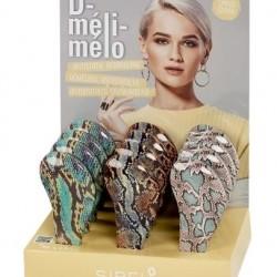 Четка за коса антистатична Sibel D-Meli-Melo Sassy Snake