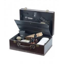 Бръснарски куфар за козметика и инструменти Barburys Retro